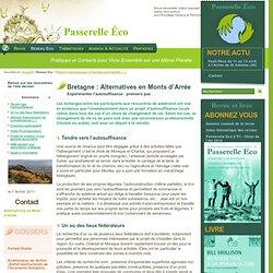 Projets d'écovillages - Alternatives en Monts d'Arrée - Expérimenter l'autosuffisance :