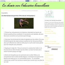22 alternatives à la punition (The natural child project )