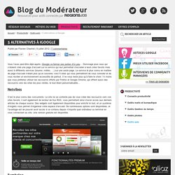 5 Alternatives to iGoogle - Moderator's blog