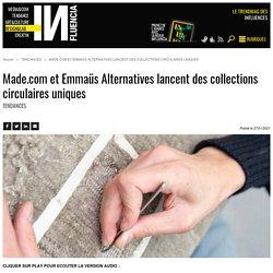 Made.com et Emmaüs Alternatives lancent des collections circulaires...
