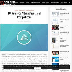 10 Animoto Alternatives and Competitors 2018 – Top Best Alternatives
