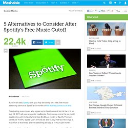 5 Alternatives to Consider After Spotify's Free Music Cutoff