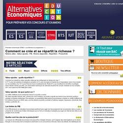 Alternatives Economiques Education