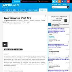 Christian Chavagneux, Alternatives Economiques - La croissance c'est fini ! - Libre propos