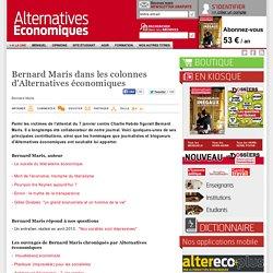 Bernard Maris dans les colonnes d'Alternatives économiques