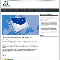 7 alternatives européennes à Gmail et Outlook.com