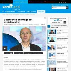 Christian Chavagneux, Alternatives Economiques - L'assurance chômage est excédentaire ! - Décryptage éco