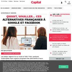 Qwant, Whaller... ces alternatives françaises à Google et Facebook