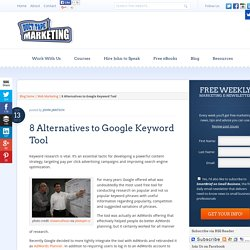 8 Alternatives to Google Keyword Tool