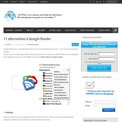 11 alternatives à Google Reader