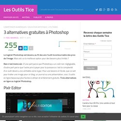 3 alternatives gratuites à Photoshop