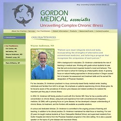 Advanced Alternatives in Integrative Medicine - Gordon Medical Associates