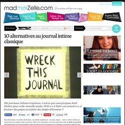 10 alternatives au journal intime classique
