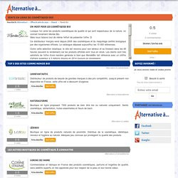 ► Alternatives à Mondebio.com