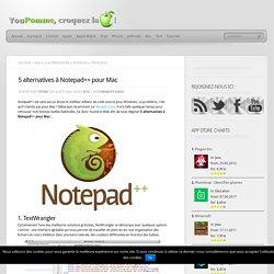 5 alternatives à Notepad++ pour Mac