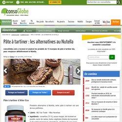 15 alternatives au Nutella