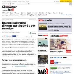 Espagne: des alternatives citoyennes pour faire face à la crise économique