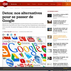 Detox: nos alternatives pour se passer de Google