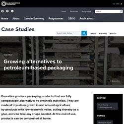 Growing alternatives to petroleum-based packaging