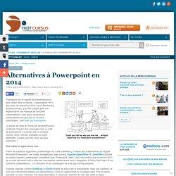 Alternatives à Powerpoint en 2014