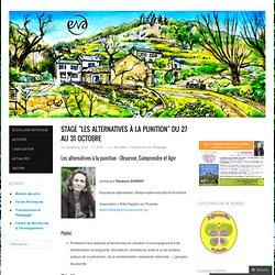"""Stage """"Les alternatives à la punition"""" du 27 au 31 Octobre"""