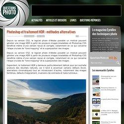 Photoshop et traitement HDR : méthodes alternatives