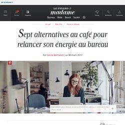 Sept alternatives au café pour relancer son énergie au bureau ...