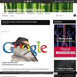 Alternatives : 50 pour remplacer tous les produits Google -