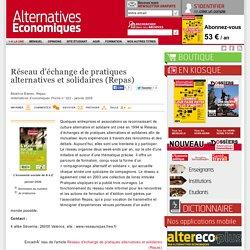 Réseau d'échange de pratiques alternatives et solidaires (Repas)