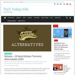 Best Kickass Torrents Alternatives 2020