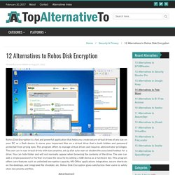 12 Alternatives to Rohos Disk Encryption – TopAlternativeTo