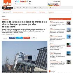 Tracé de la troisième ligne de métro : les alternatives proposées par des Toulousains