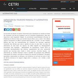 Expansion du tourisme mondial et alternatives éthiques - CETRI, Centre Tricontinental