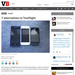 7 alternatives to TestFlight