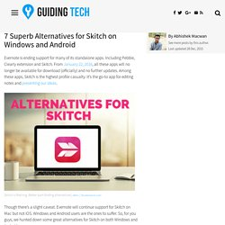 7 Superb Alternatives for Skitch on Windows and Android