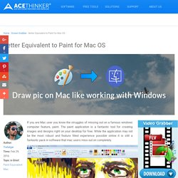 Reviews of Alternatives to Windows Paint for Mac
