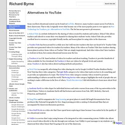 Alternatives to YouTube - Richard Byrne
