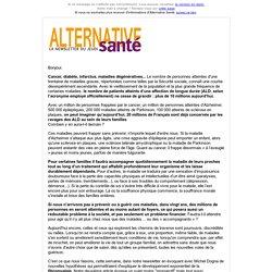 FIBROMYALGIE : DE NOUVELLES PISTES DE RECHERCHE (Alternative Santé)