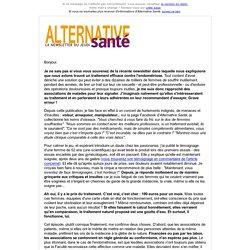 alternativessanté : que font certaines associations de malades ?