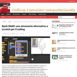 Byob SNAP: uno strumento alternativo a scratch per il coding – Coding e Pensiero computazionale