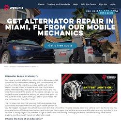 Alternator Repair Miami FL