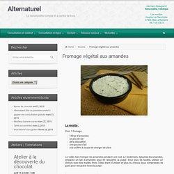 Alternaturel – Fromage végétal aux amandes