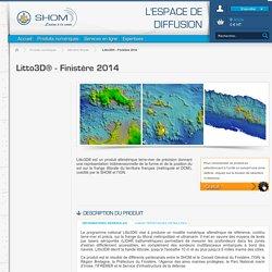 Litto3D® - Finistère 2014 - Altimétrie littorale - Produits numériques