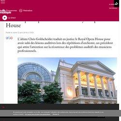 L'altiste porte plainte contre le Royal Opera House
