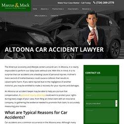 Car Accident Claims in Altoona