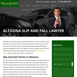 Altoona Slip and Fall Lawyer