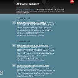 Altrincham Solicitors