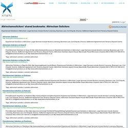 Altrincham Solicitors (Xmarks shared folder)
