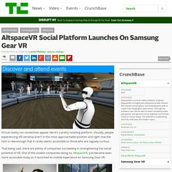 AltspaceVR Social Platform Launches On Samsung Gear VR