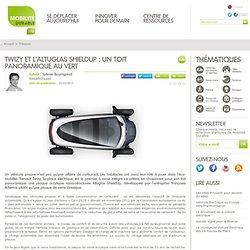 Twizy et l'Altuglas ShieldUp : un toit panoramique au vert